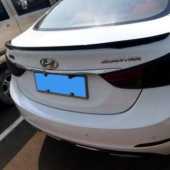 UBUYUWANT For Hyundai Elantra Spoiler ABS Material Car Rear Wing Elantra Spoiler For Hyundai Elantra Spoiler 2012 2013 2014 2015 фото