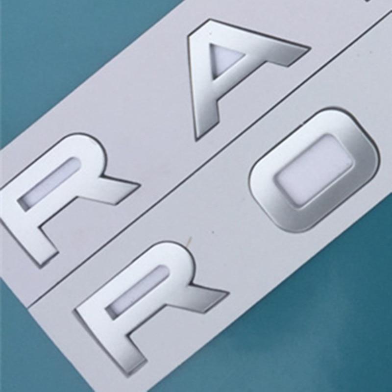 5 pcs letras emblema para land range 01