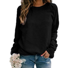 Summer Women Long Sleeve Solid Color Lac
