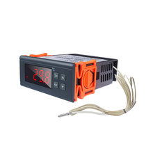 Termostato 220v 30a-30 celsius 300 regulador do termostato do controlador de temperatura digital celsius com saída do relé do sensor de ntc