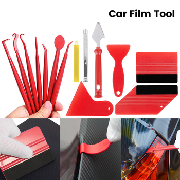 13PCS Car Vinyl Film Wrapping Tools Car Sticker Film Scraper Kit Auto Felt Squeegee Scraper Set Knife Decal Accessories noizzy 1 set band of brothers ho willys star car auto vinyl reflective sticker decal whole body kit for jeep wrangler cherokee