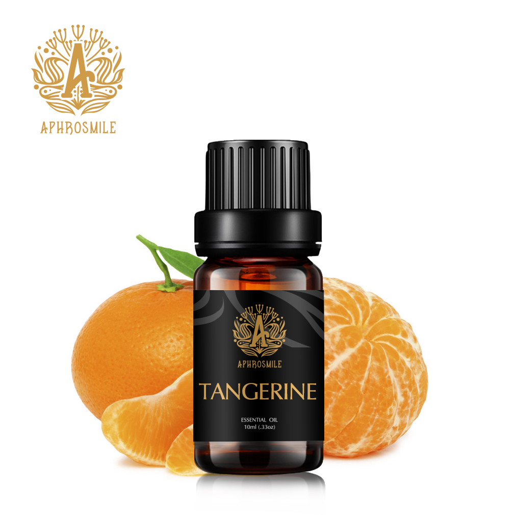 10ml Tangerine Essential Oils Relax Fragrance Oil Air Freshening Aromatherapy Diffusers Pure Essential Oils