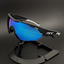 NRC FUll Only 1 Lens TR90 Sports Cycling Glasses Men MTB Mountain Road Bike Bicy