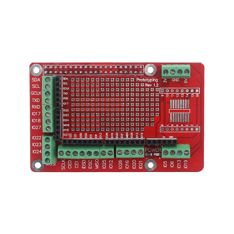 cheapest Raspberry Pi Extension Board Accessories Prototype Board GPIO Expansion Plate for Raspberry Pi 4 Model B 3B  3B