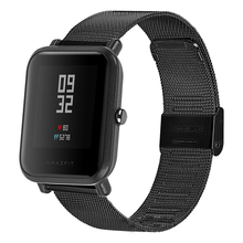 Milanese Loop Strap 23mm 22mm 20mm 18mm Stainless Steel Smart Watch Band For Huami Amazfit Bip / Ftbit Versa Samsung Galaxy 42