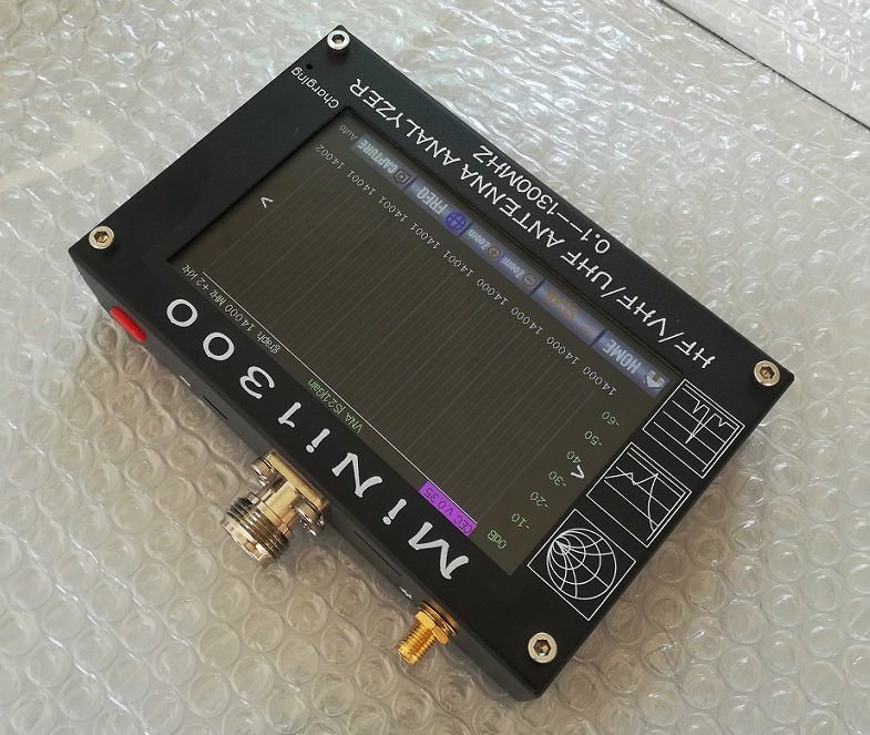 MINI1300 Full Band Touchscreen Vector VNA Antenna Analyzer