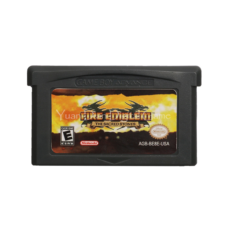 For Nintendo GBA Video Game Cartridge Console Card FireEmblem The Sacred Stones English Language US Version