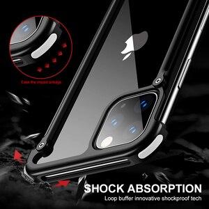 Image 4 - Spider Cassa Del Respingente Per il iPhone 11 Pro Max X XR XS iPhone11 di Marca di Lusso di Alluminio del Metallo Antiurto Telaio di Copertura Del Telefono accessori