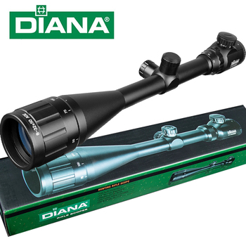 DIANA Tactical 8-32X50 Scopes Rifle Optics Red Dot Green Compact Riflescopes Outdoor Hunting