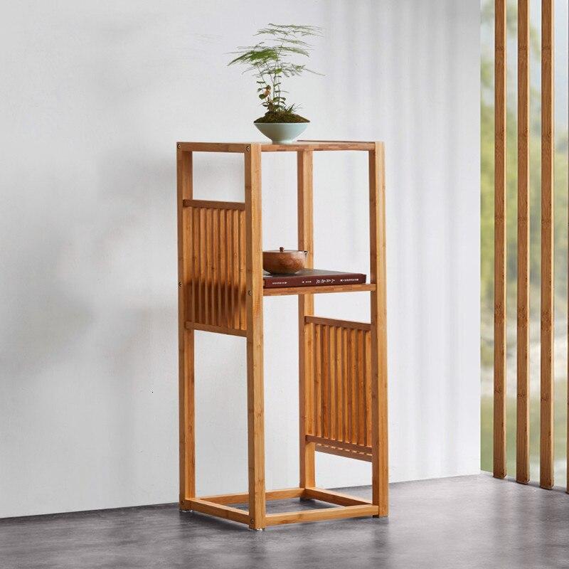 A Room Shelf Green Indoor Balcony Simplicity Modern Vestibule Chlorophytum Flowerpot Frame Chinese Style Flower Rack