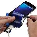 Аварийное зарядное устройство с USB-разъемом, портативный многофункциональный инструмент с ручкой для телефона, кемпинга, путешествий, выжи...