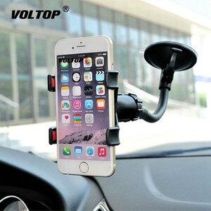 Image 3 - Supporto da Auto universale Supporto Del Telefono Cellulare per Auto Iphone 7 6s Plus SE Del Basamento di Supporto per Samsung Cellulare Flessibile supporto del telefono