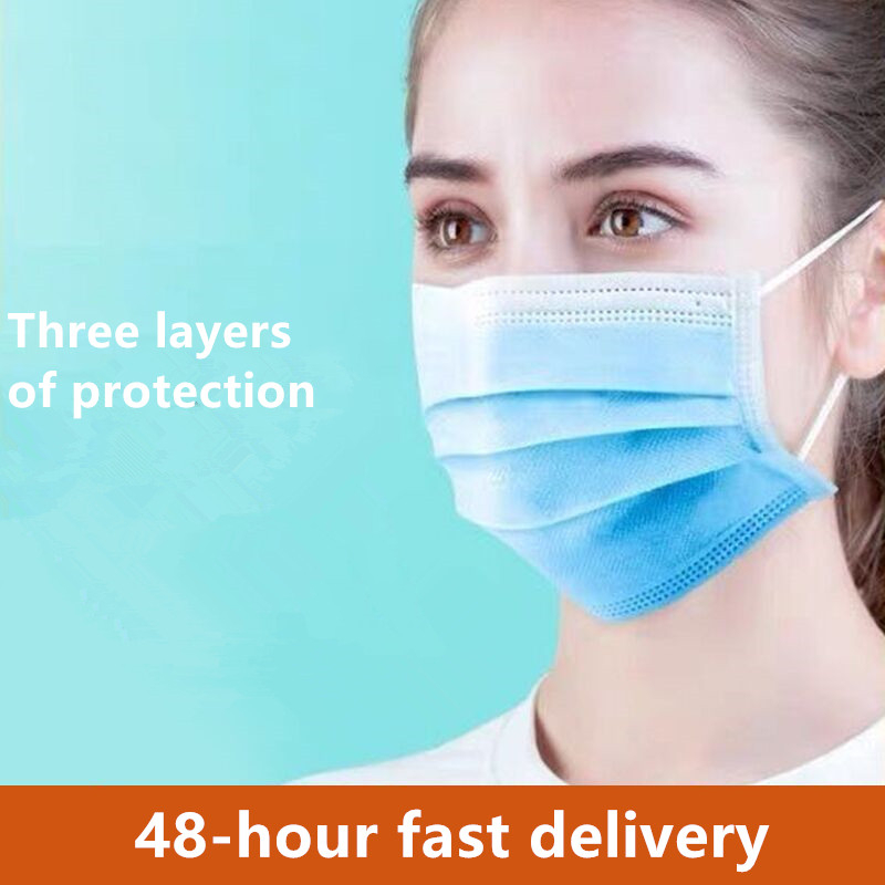 Safety Anti Virus Dust Mask Cover Respirator Dustproof Face Mask Unisex Facial Protective Cover Masks Disposable