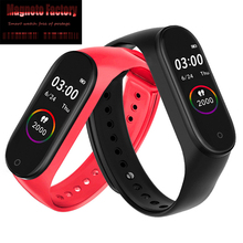 MFS M4 Smart Watch Smart Wristband 4 Waterproof Watch Blood Pressure Heart Rate Monitor Fitness Tracker Smartwatch Bracelet origianl garmin vivoactive hr smart watch bluetooth 4 0 waterproof smartwatch heart rate monitor wristband gps