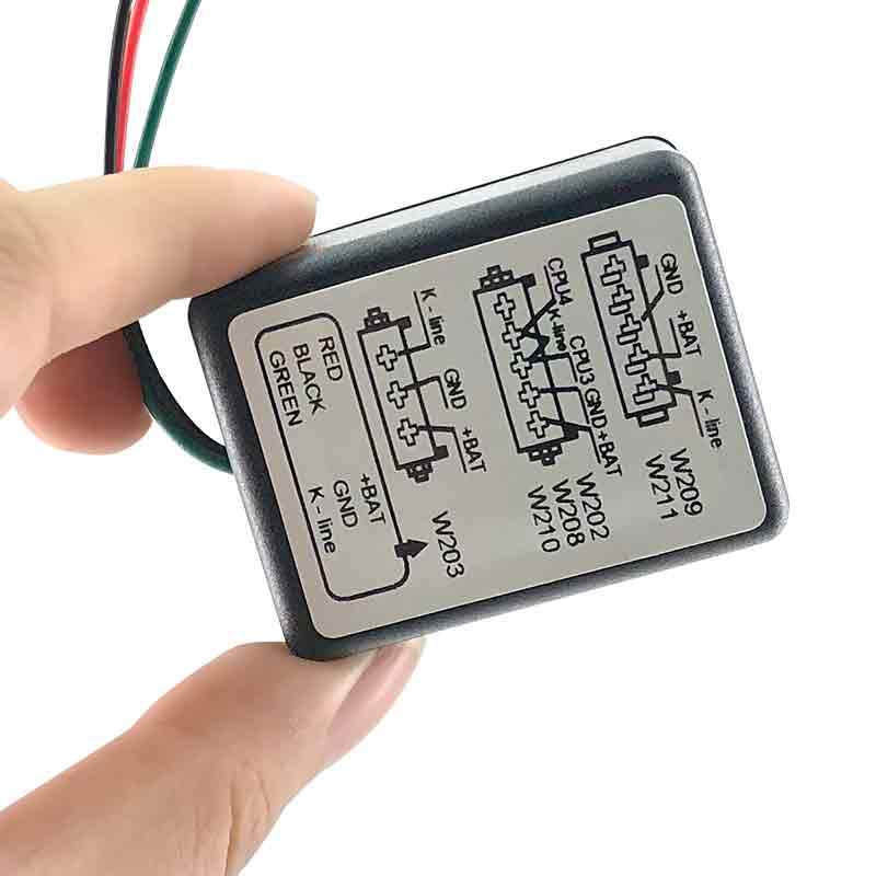 Professional MB ESL Emulator for W202 W208 W210 W203 W211 W639 car IMMO Emulator tool
