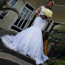 Свадебные платья 2020 длинные для женщин Русалка африканские