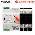 Бесплатная доставка GEYA W2R-3P на din-рейке автоматический переключатель передачи трехфазный ATS 100A переключатель передачи мощности