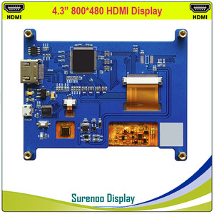 """Image 4 - 4.3 """"4.3 Inch 800*480 Tft Hdmi Usb Capacitieve Touch Panel Lcd Module Display Monitor Scherm Voor Raspberry pi"""