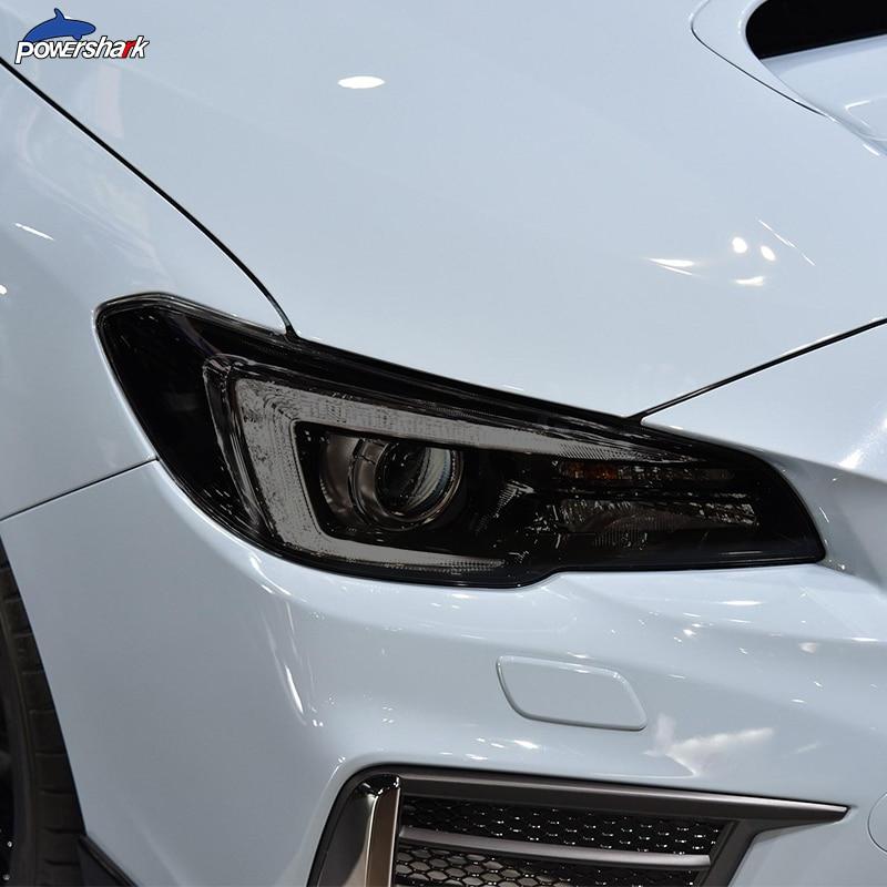 2 шт Автомобильная фара оттенок Черная защитная пленка прозрачная ТПУ наклейка для Subaru WRX Sti 2015 настоящие аксессуары|Наклейки на автомобиль| | АлиЭкспресс