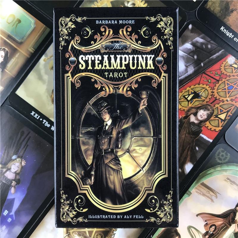 Карты Таро в стиле стимпанк, настольная игра, карта для семейного сбора, Вечерние игры в карты