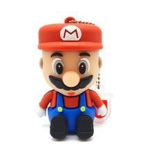 KRY Mini Mario Pen Driver 2.0 Flash Card USB 4GB 8GB 16GB 32GB 64GB Stick High Speed 3.0 Creative Cute Gift Free Shipping