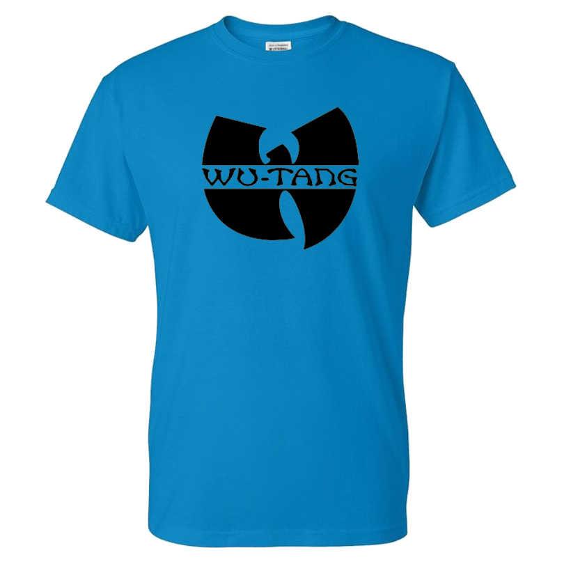 Wu Tang Clan T-shirt Mannen Vrouwen Sport Casual Streetwear Hoge Kwaliteit Katoen Hip Hop Tshirt Fashion Band Print T-shirt tees Tops