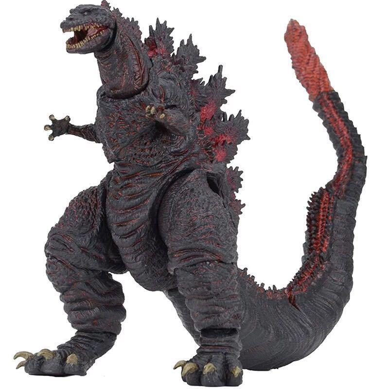 Godzilla 18CM Movie Animation Toys Wholesale SHM Monster King 18CM PVC Model Doll Ornaments Dinosaur Joint Movable Gift Figma|Action Figures| - AliExpress