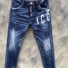2020 NEW WOMEn/Man Ripped Jeans D2 Biker slim Blue Jeans Men Pants DSQ2 DSQ020