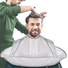 Capa de corte de pelo artesanal, paraguas, capa de peluquería, bata de peluquero, delantal de tela, tinte resistente al agua, envoltura de salón, protección, herramientas de peluquería