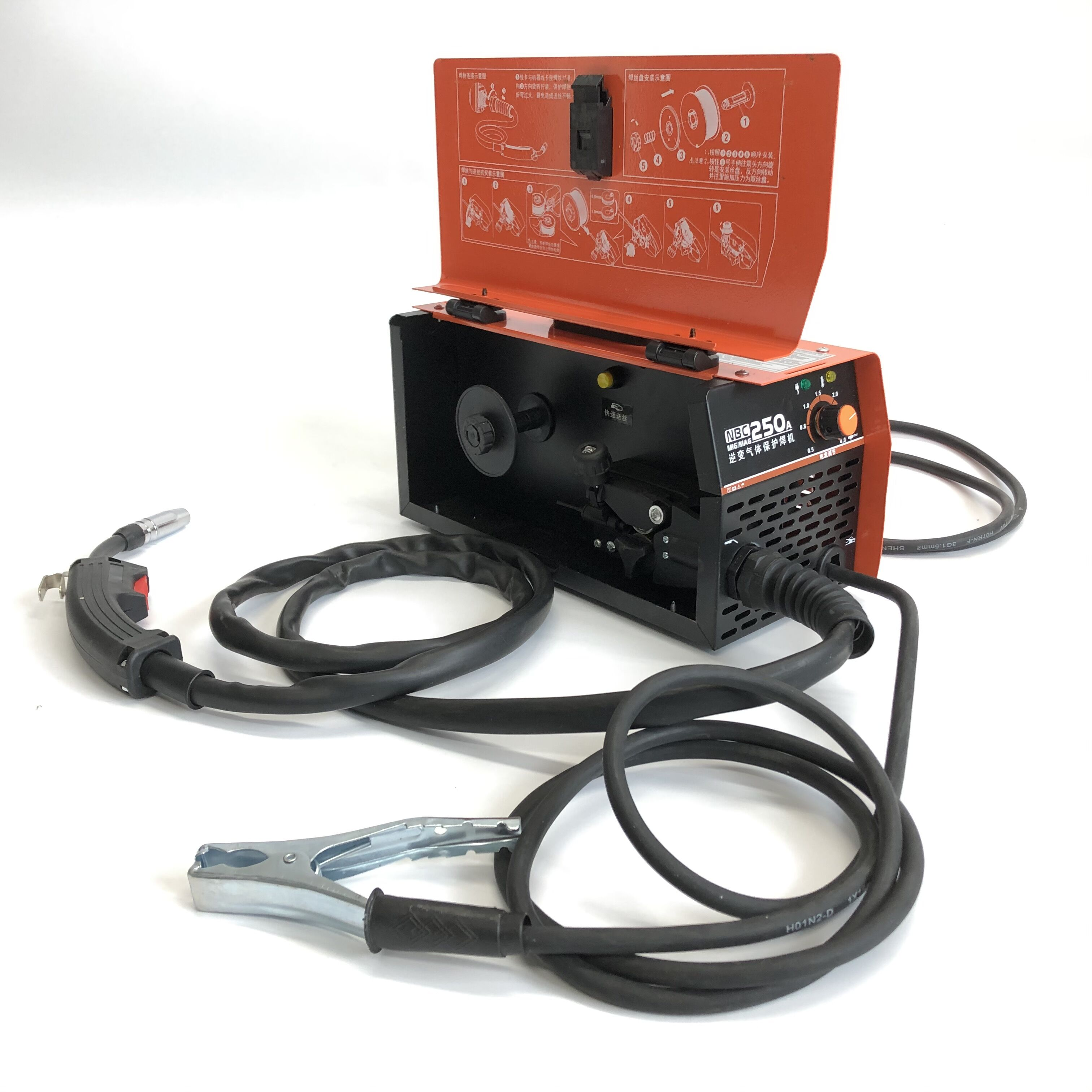 Home Shielded  Dioxide Machine Machine Free Carbon Integrated Machine Gas Welding Two 220V Welding Small Gas