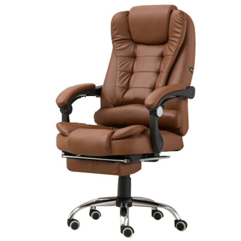 Купить с кэшбэком Boss Computer Chair Office  Home  Rotatable Massage Chair Lifting Adjustable  Chair  Business Comfort Chair With Footrest