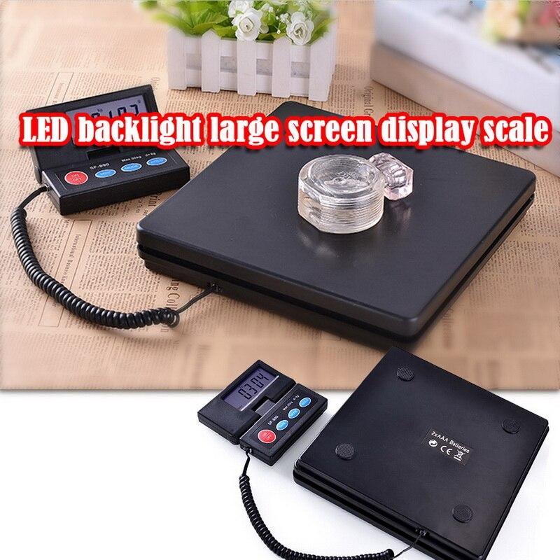 Mini Portable 50kg LCD paquet électronique pesage Postal bagages plate-forme échelle numérique balance paquet balance postale