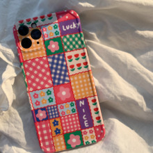 Korea flowers phone case IMD soft for iphone 11 12 Pro Max cover shockproof for iphone 7 8 Plus XR X XS MAX Fundas coque