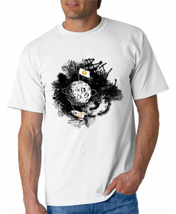 Bitcoin Moon T Shirt Crypto Btc Tshirt Cryptocurrency Blockchain Satoshi Tech Street Wear Fashion Tee Shirt(China)
