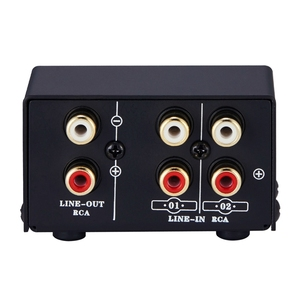 Image 3 - 2 in 1 Out or 1 in 2 Out o Source Signal Selector, Switcher, Speaker, o Source, Switcher, RCA Interface, Lossess