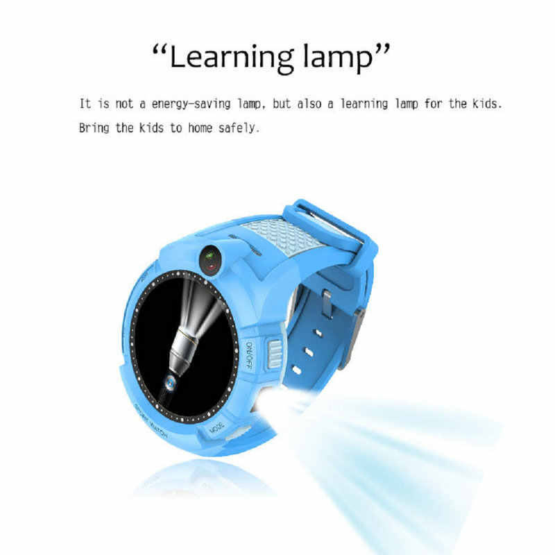 GEJIAN Smart Watch For kids Children GPS Camera WIFI Position SOS Anti-lost Monitoring Positioning Tracker SmartWatch Children's
