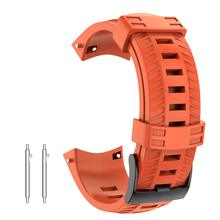 Sport Silicone Watch band for Suunto 9 Baro Strap High Quality Replacement Wristband Smart Bracelet Accessories