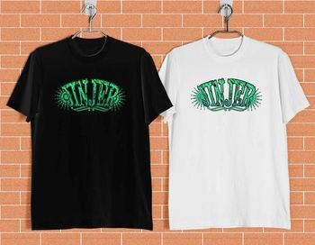 Nueva camisa blanca y negra de la banda de METAL de JINJER talla S-XXXL ZM1