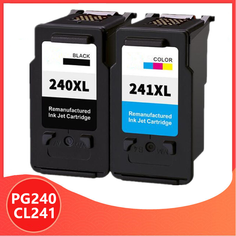 PG240 CL241 PG-240 CL-241 PG 240 CL 241 XL Ink Cartridge For Canon Pixma MX372 MX432 MX512 MG2120 MG3120 MG3220 Ink Cartridges