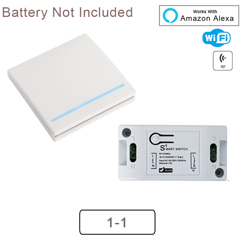 Had8d5983c33f414d83569bd4811d41733 - QIACHIP WiFi Smart Switch Wireless Remote Control Light Timer Relay Switches AC 110V 220V Home Automation Work With Amazon Alexa