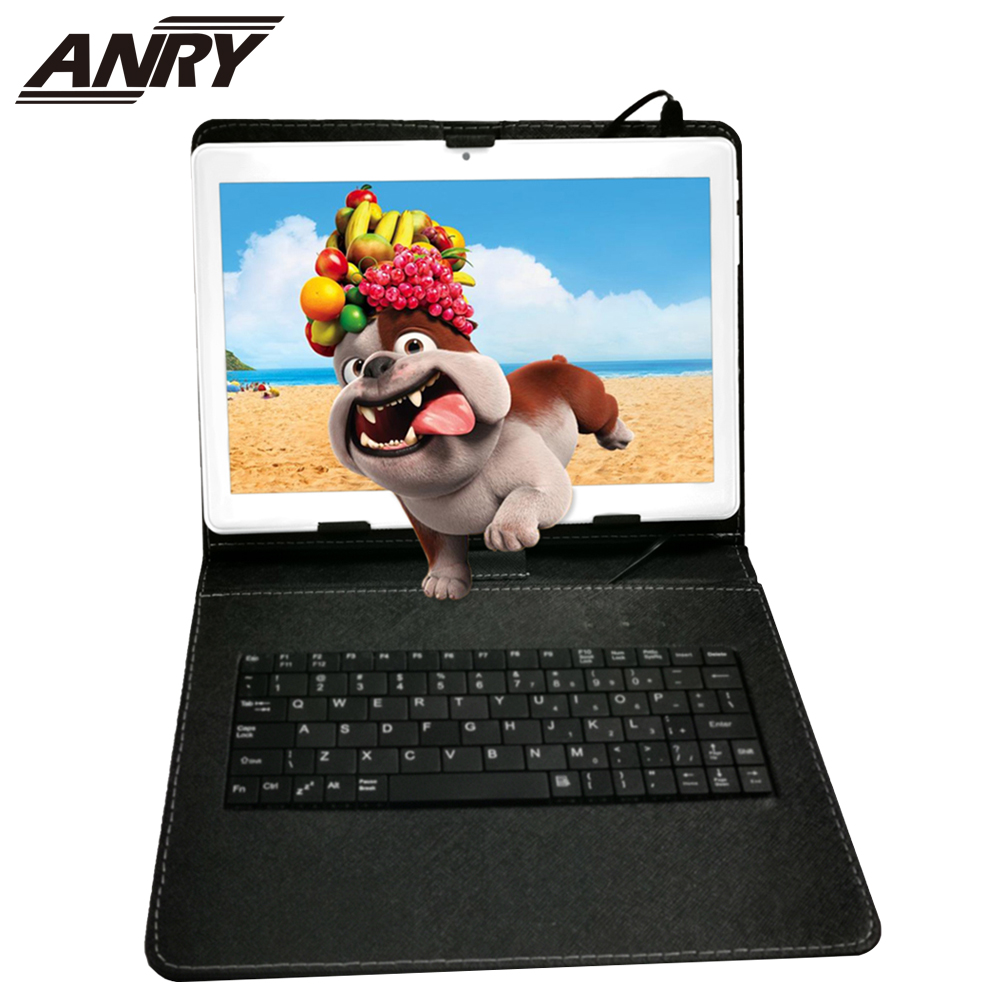 ANRY 2 In 1 android tablet 10 inch Tablet PC with SIM Card Slots Quad Core 1.5GHz 32GB ROM 2MP+5MP Dual Camera WiFi Bluetooth