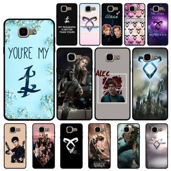 YNDFCNB TV Series Shadowhunters Phone Case for Samsung A6 A8 Plus A7 A9 A20 A20S A30 A30S A40 A50 A70 image
