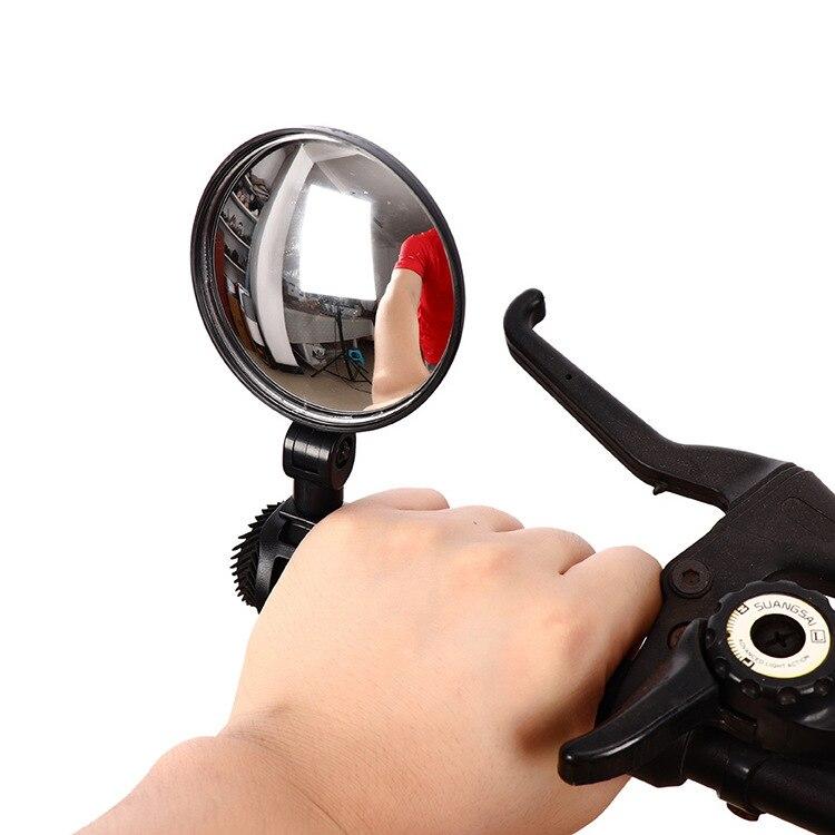 Universal Cycling Bike Bicycle Mirror Adjustable  Rearview Mirror MTB