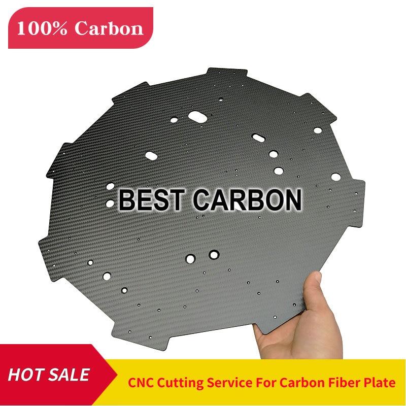 Carbon Fiber Plate CNC Cutting Service , Carbon Fiber Sheet , Laminate , Center Plate