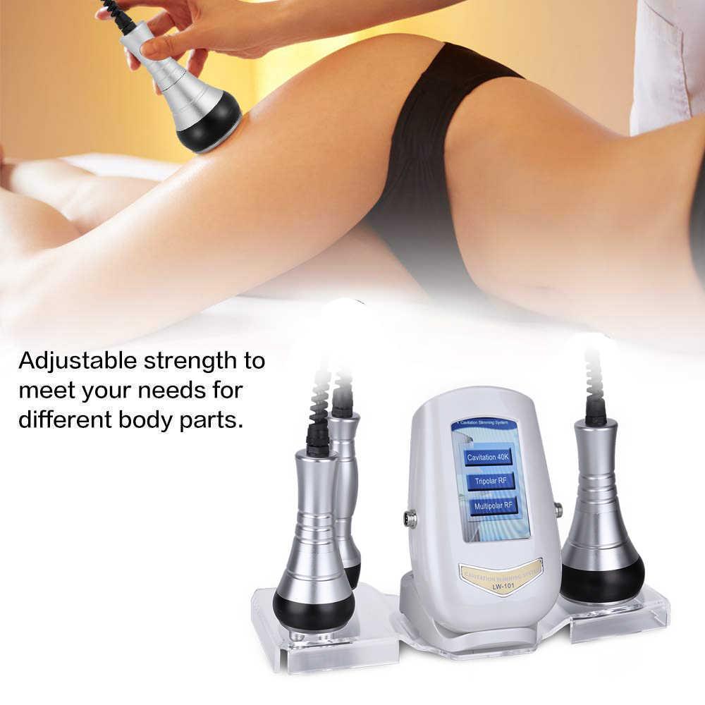 Beauté étoile 40K Cavitation ultrasons corps Massage Machine perte de poids Anti Cellulite RF radiofréquence peau du visage serrer