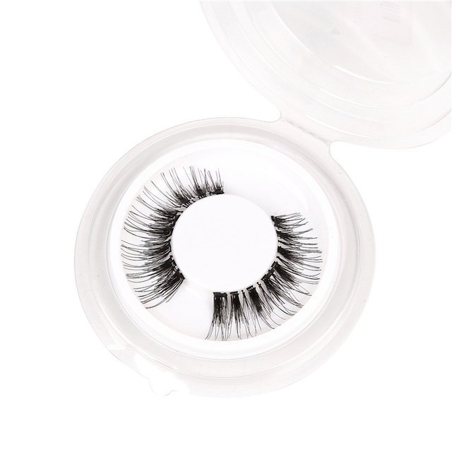3D Magnetic Eyelashes with 3 Magnets Magnetic Lashes Natural Long False Eyelashes Magnet Eyelash Extension Makeup Tools 5