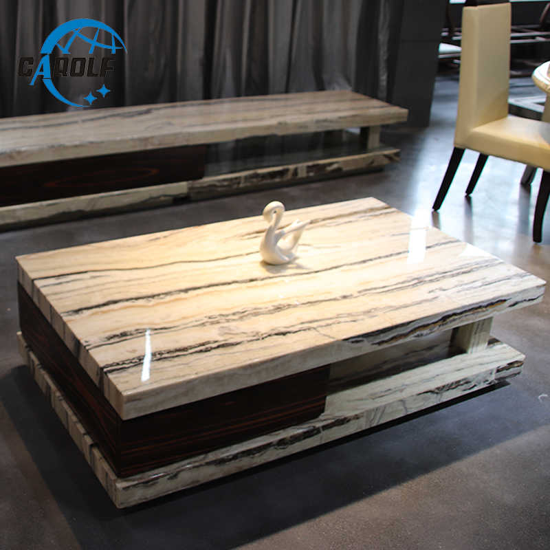 Best Price Modern White Marble Coffee Table Living Room Center
