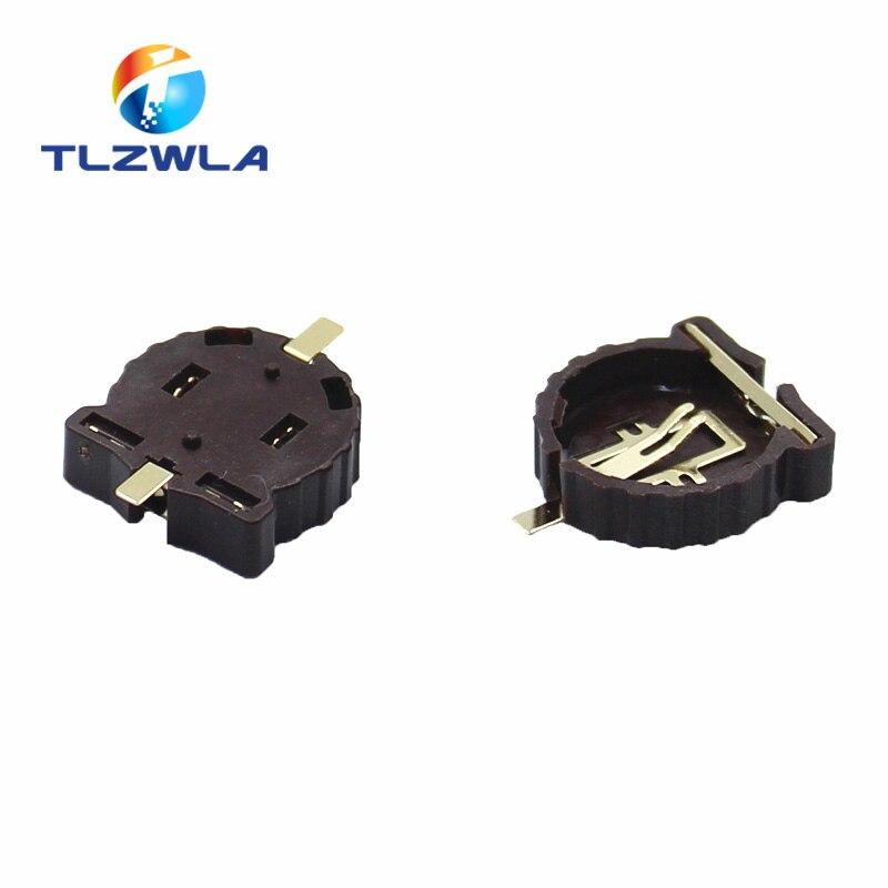 20pcs Computer Button 3V Battery Holder Connnector Socket Case CR1220
