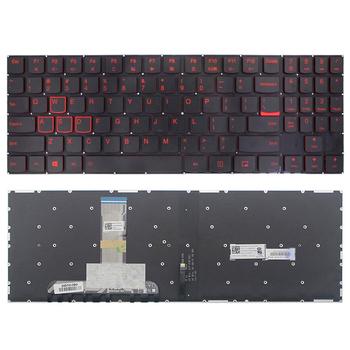 Oryginalny nowy dla Lenovo Legion Y520 Y520-15IKB Y720 Y720-15IKB R720 R720-15IKB laptop angielski klawiatura amerykańska z podświetlanym podświetleniem tanie i dobre opinie BillionCharm US Standardowy Black 1 x keyboard