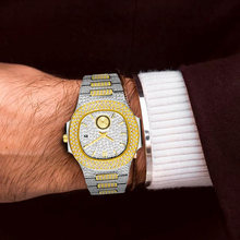 Новые двухцветные золотые часы patek nautilus 5980 Дизайнерские